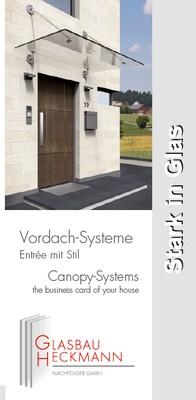 Flyer-Vordach-Heckmann